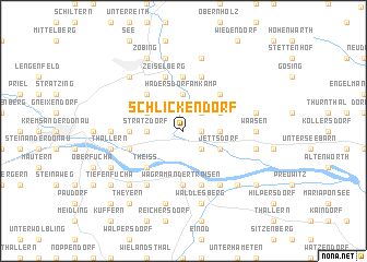 map of Schlickendorf