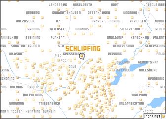 map of Schlipfing