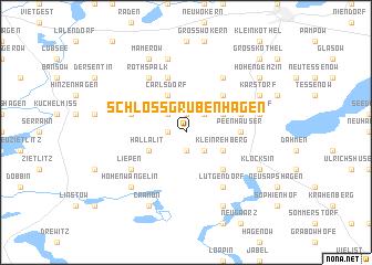 map of Schloß Grubenhagen