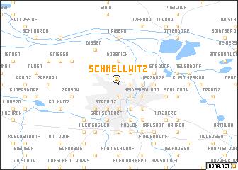map of Schmellwitz