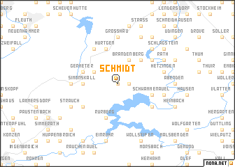 map of Schmidt