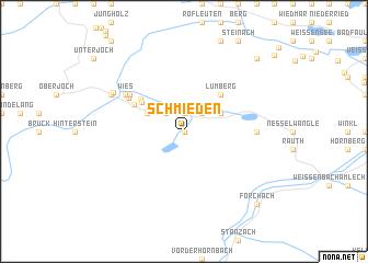 map of Schmieden