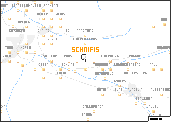 map of Schnifis