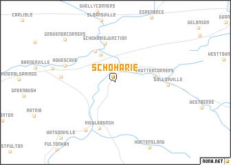 map of Schoharie