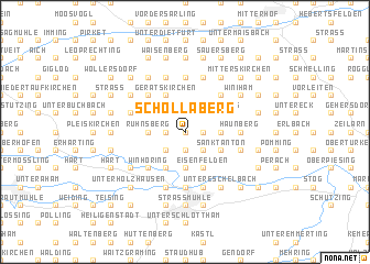 map of Schollaberg