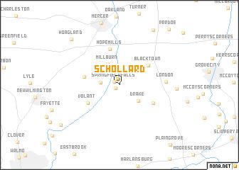 map of Schollard