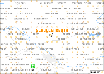 map of Schollenreuth
