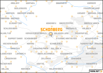 map of Schönberg