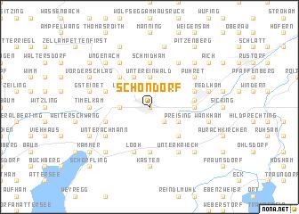 map of Schöndorf