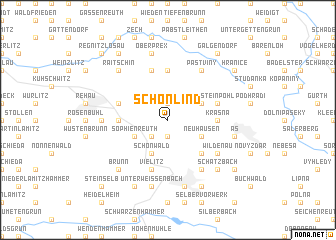 map of Schönlind