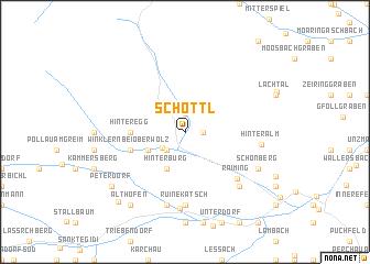 map of Schöttl