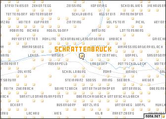 map of Schrattenbruck