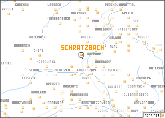 map of Schratzbach