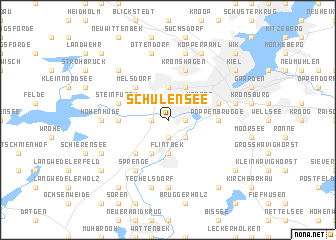 map of Schulensee