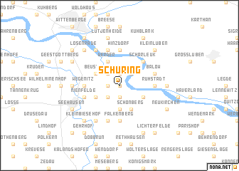 map of Schüring
