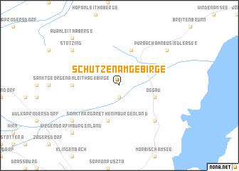 map of Schützen am Gebirge
