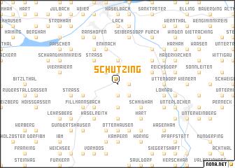 map of Schützing