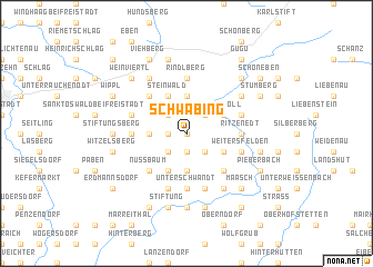 map of Schwabing