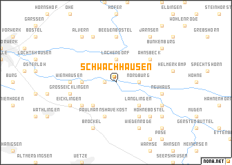 map of Schwachhausen