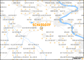 map of Schwadorf