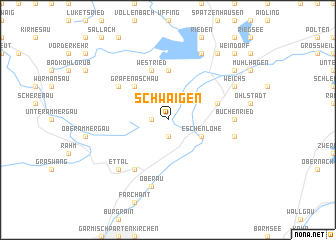 map of Schwaigen