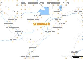 map of Schwaigen