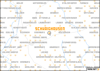 map of Schwaighausen