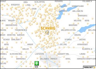 map of Schwaig