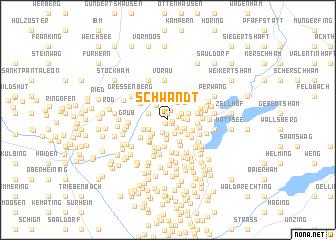map of Schwandt