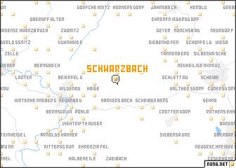 map of Schwarzbach