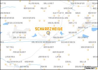 map of Schwarzheide