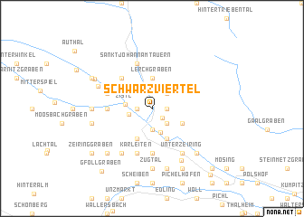 map of Schwarzviertel
