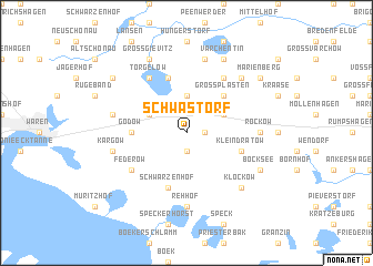 map of Schwastorf