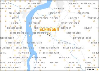 map of Schwegen
