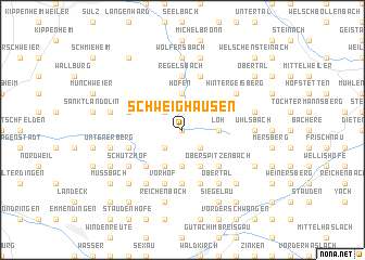 map of Schweighausen
