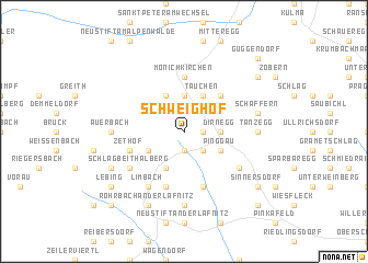 map of Schweighof