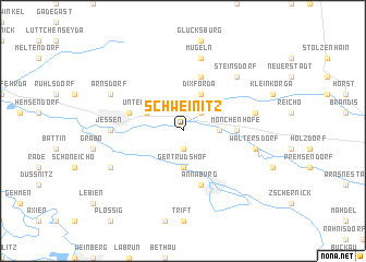 map of Schweinitz