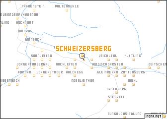 map of Schweizersberg