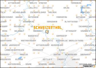 map of Schweizerthal