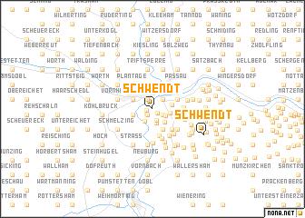 map of Schwendt