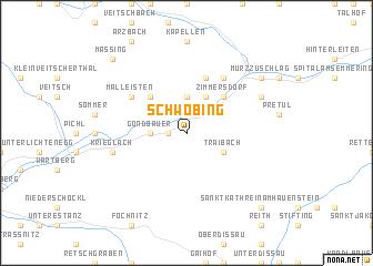 map of Schwöbing