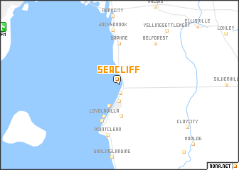 map of Seacliff