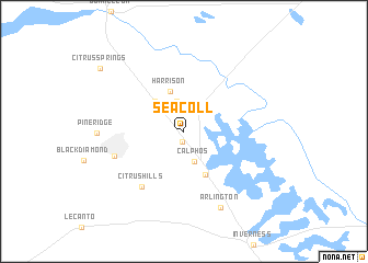 map of Seacoll