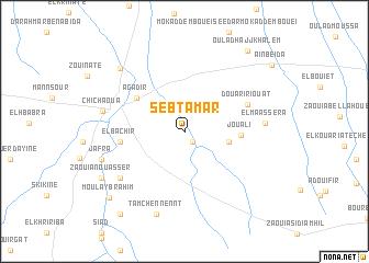 map of Sebt Amar