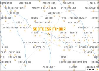 map of Sebt des Aït Imour