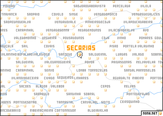 map of Secarias