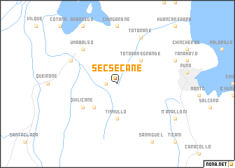 map of Secsecane