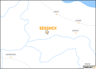 map of Sedgwick