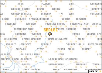 map of Sedlec