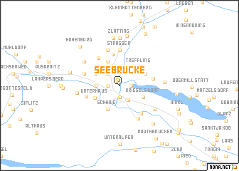 map of Seebrücke